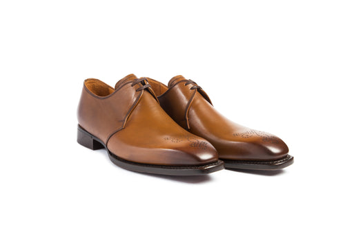 MANESY DERBY BROGUE GOLD
