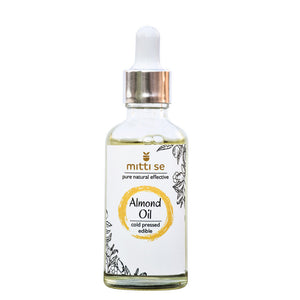 <b>Almond Oil </b><br/>Cold Pressed, Skin & Hair Care, Baby Massage