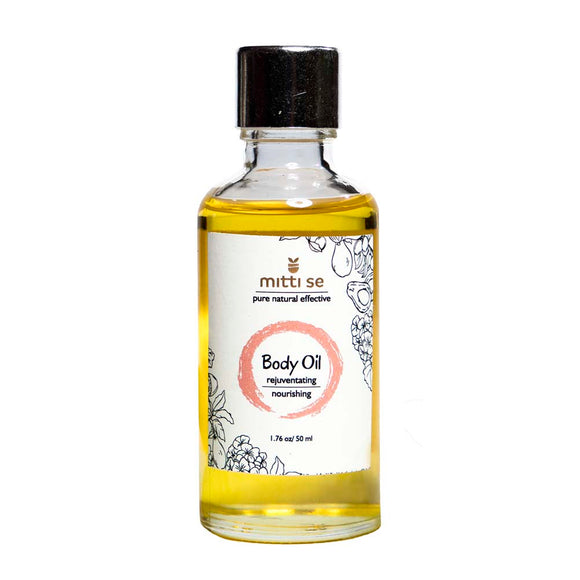<b>Body Oil</b><br/>Nourishing, Moisturizing, Rejuvenating