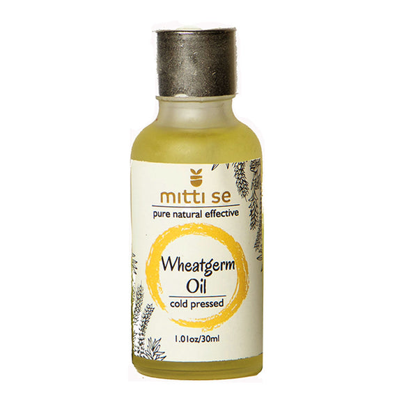 <b>Wheatgerm Oil</b><br/>Cold Pressed, Skin, Hair Care