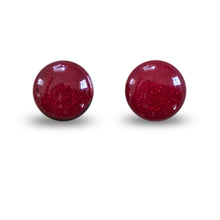 flluskë Studs - Ruby Slippers
