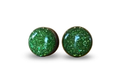 flluskë Studs - Emerald City