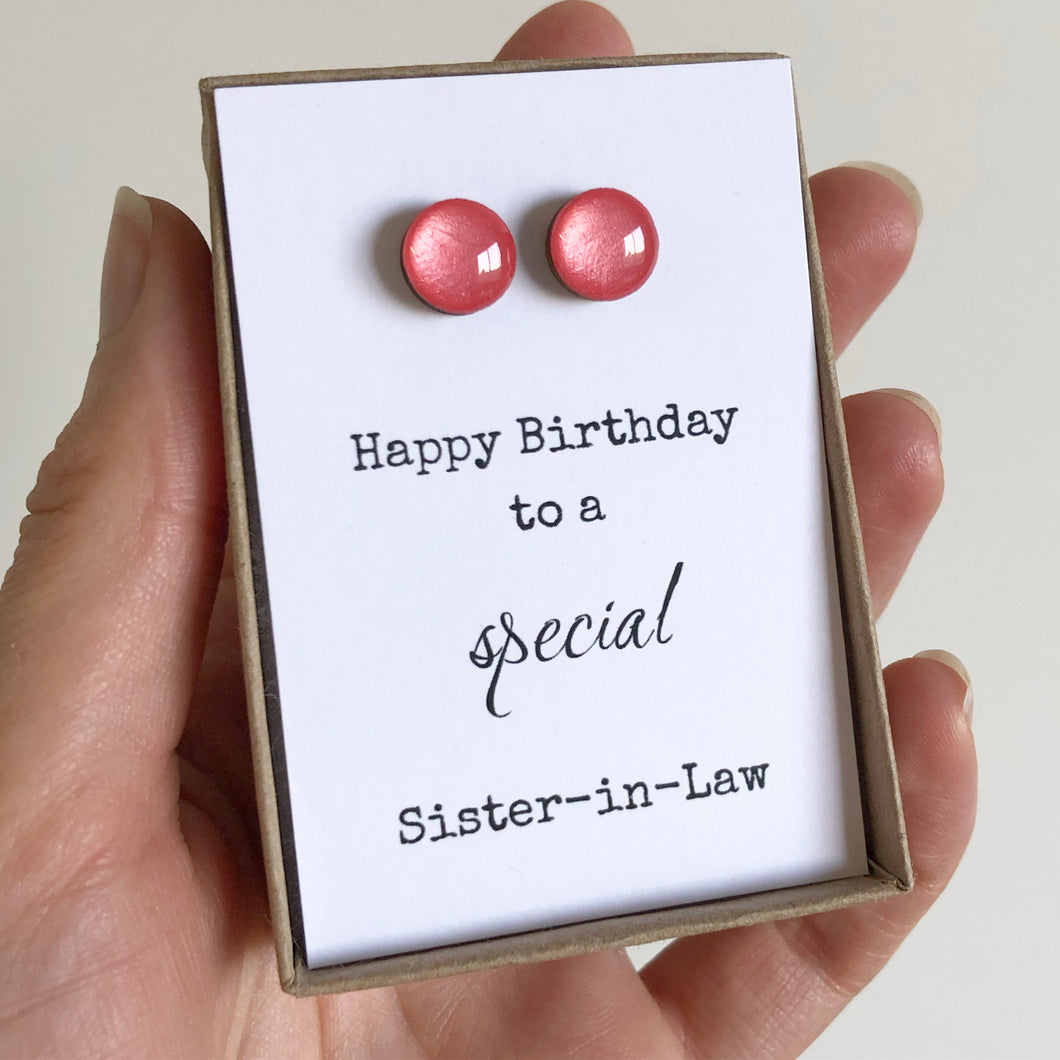 Happy Birthday to a special Sister-in-Law