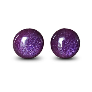 flluskë Studs - Frosted Grape