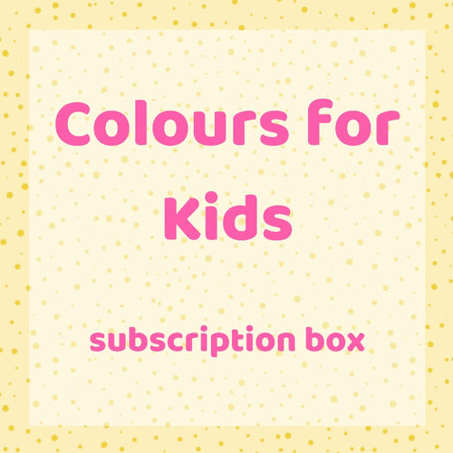 Colours for Kids Subscription Box
