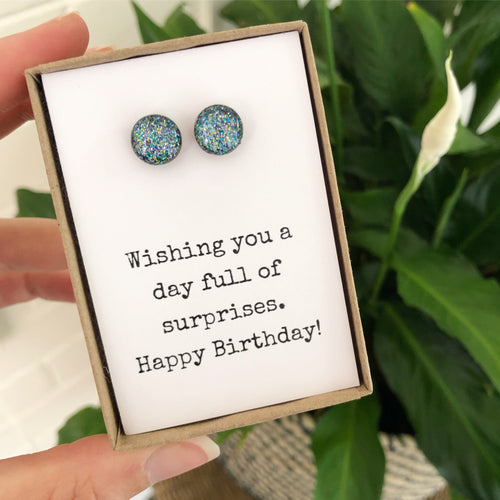 Wishing you a day full of surprises. Happy Birthday!