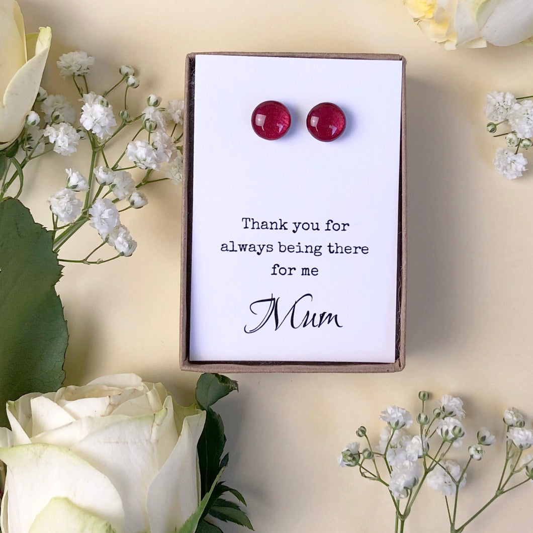 Thank you for always being there for me Mum