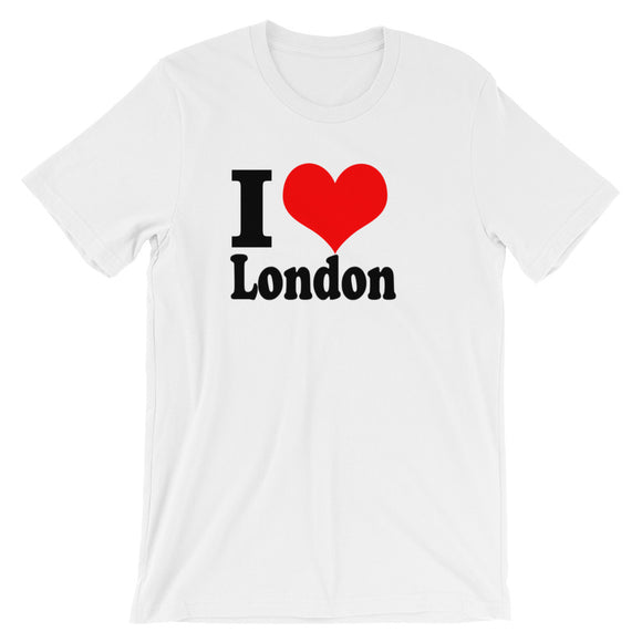 Love London - Short-Sleeve Unisex T-Shirt - KrishQ