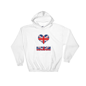 Love London - Hooded Sweatshirt - KrishQ