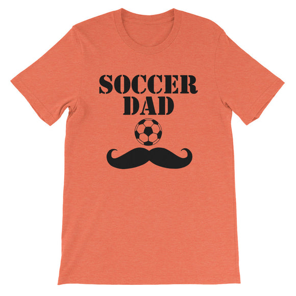 Soccer Dad - Short-Sleeve Unisex T-Shirt - KrishQ