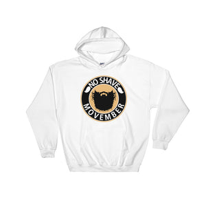 No Shave Movember - Hooded Sweatshirt - KrishQ