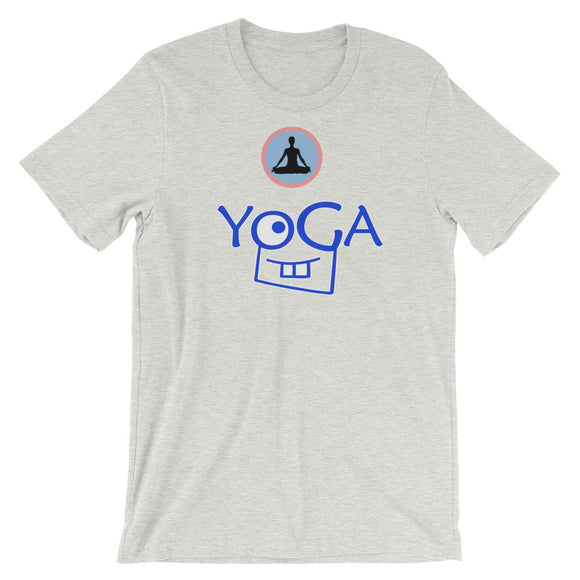Yoga - Short-Sleeve Unisex T-Shirt - KrishQ