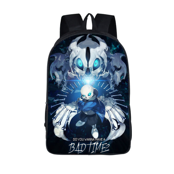 Anime Undertale Backpack for Teenage Girls Boys - KrishQ