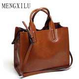 Leather Bags Handbags Women Famous Brands Big Casual Women Bags Trunk Tote Spanish Brand Shoulder Bag Ladies large Bolsos Mujer - KrishQ