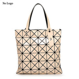 Geometric Plaid Bag Women Fashion Casual Tote Top Handle Bag Shoulder Bags Bao Bao Bag - KrishQ