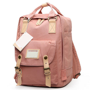Teenage Girls Kanken Backpack Student Canvas Travel Laptop Bag Women Casual School Bags Mochila Stacy Bag Patchwork Rucksack