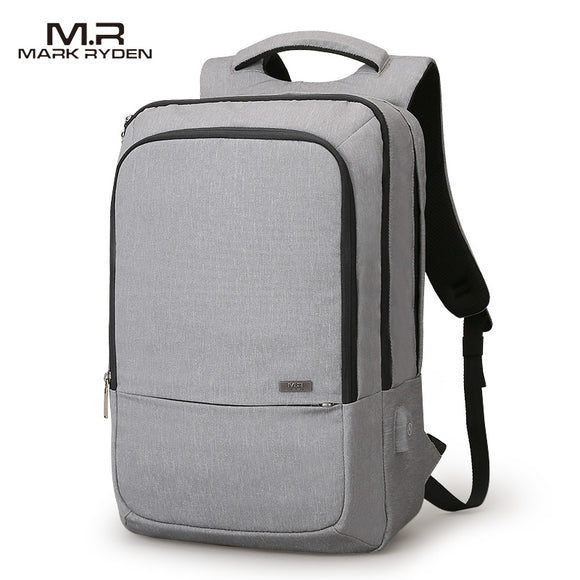 Mark Ryden New Arrival USB Recharging Design High Capacity Travel Backpack 180 Degree Opening Design Fit for 15.6 Inches Laptop - KrishQ