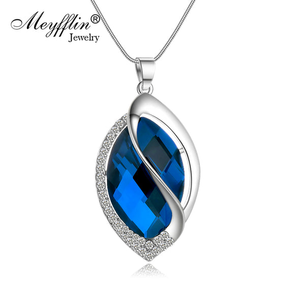 Meyfflin Women Long Necklaces & Pendants for Female - KrishQ