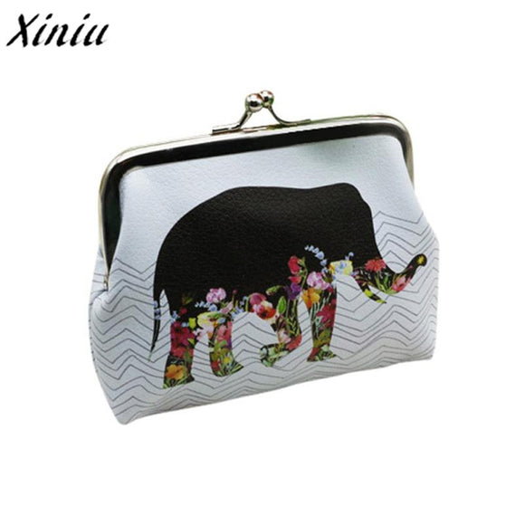 TOP Quality Womens Elephant Wallet Card Holder Coin Purse Clutch - KrishQ
