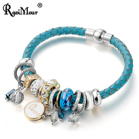 Magnet Charms Bracelet for Women - KrishQ