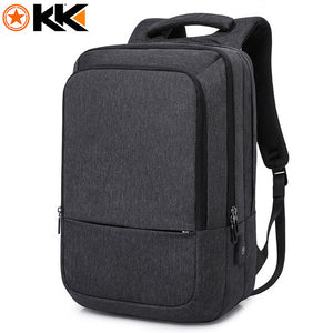 "Backpack Waterproof USB Charging Travel Backpack Large Capacity 17.3"" Laptop"
