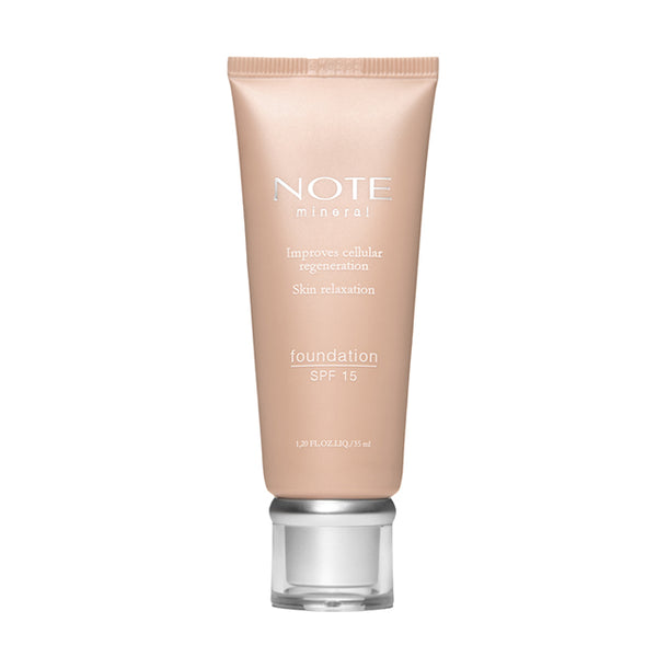 Note Fond de ten cu minerale SPF15, 35 ml