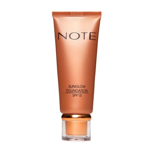 Note Fond de ten bronzant Sunglow 30, 35 ml