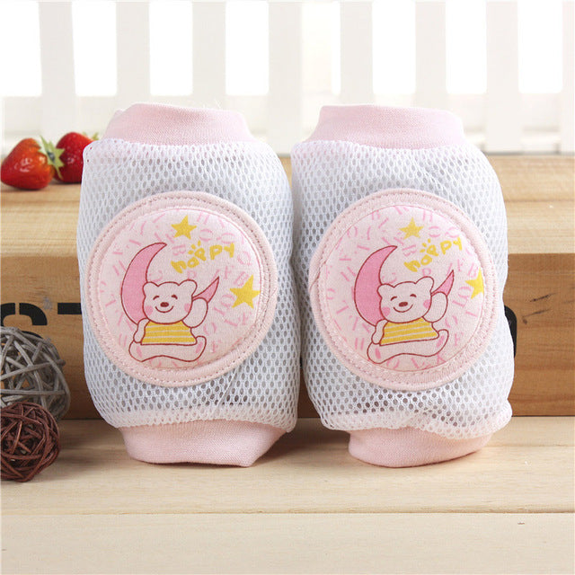 Cartoon Mesh Summer Kneepads