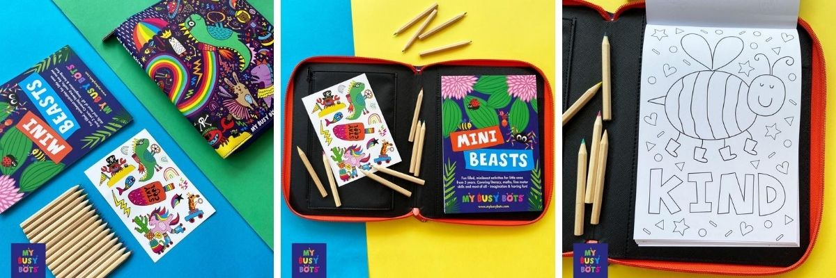 Fun Folder - Mini Beasts 3+