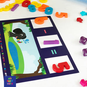 Ellies Equal - fun maths activities for reception age +