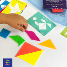 Puzzled Shapes - fun learning shapes and colours