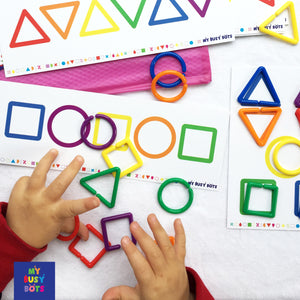All Shaped Up | Busy Bag | Learning Shapes