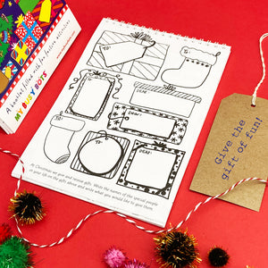 Fun Folder & Christmas Activity Booklet