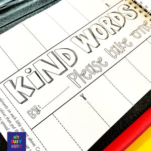 The Kindness & Positivity Booklet