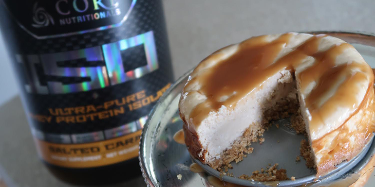 CRUSH IT! Café: Salted Caramel Cheesecake