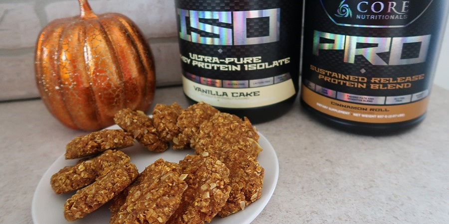 CRUSH IT! CAFÉ: PUMPKIN OAT COOKIES