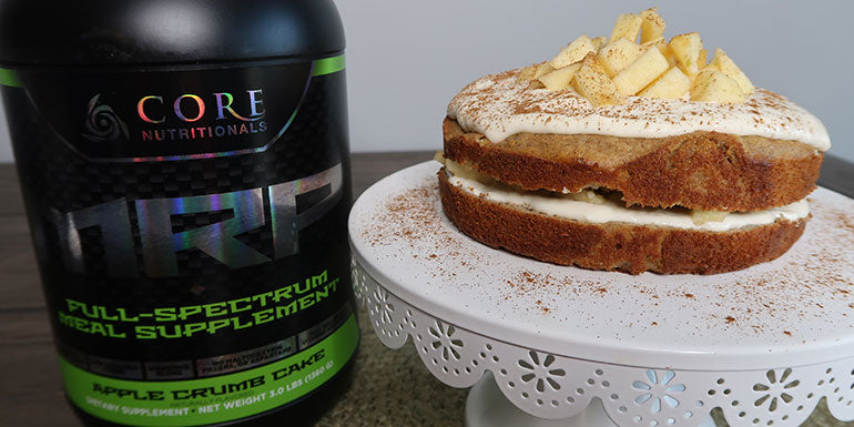 CRUSH IT! Café:Frosted Apple Cake