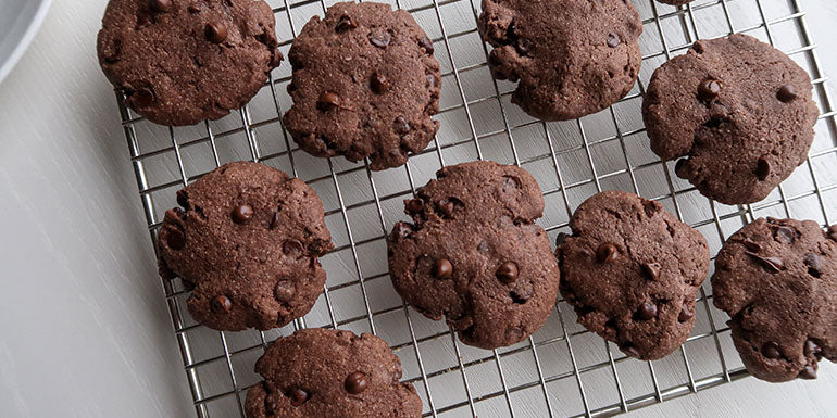 CRUSH IT! Café: Double Chocolate Protein Cookies