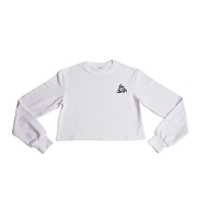 Lightweight Crop Sweatshirt