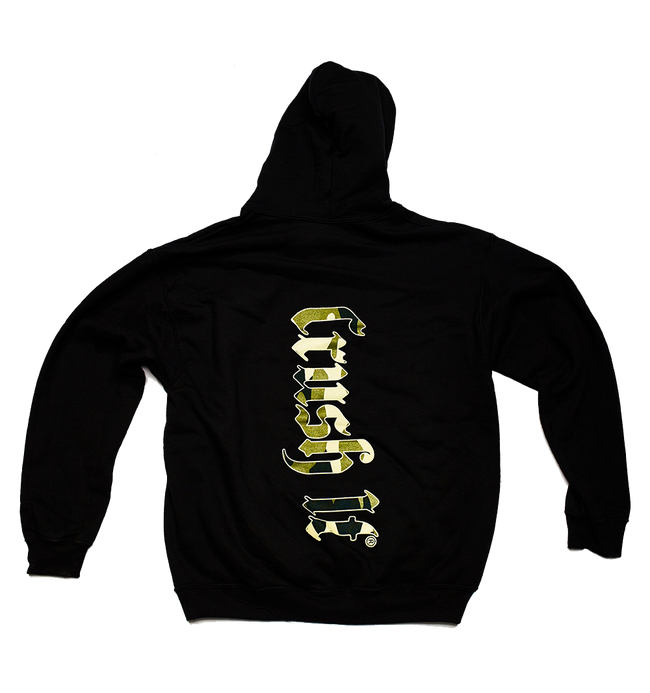 Camo CRUSH IT Hoodie