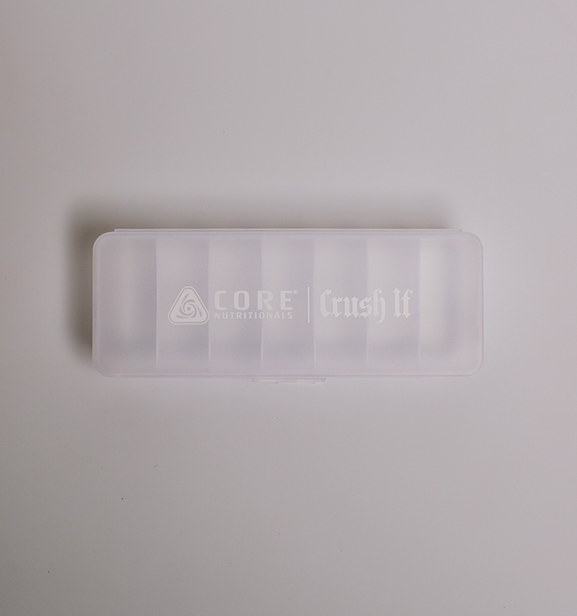 White Pill Case