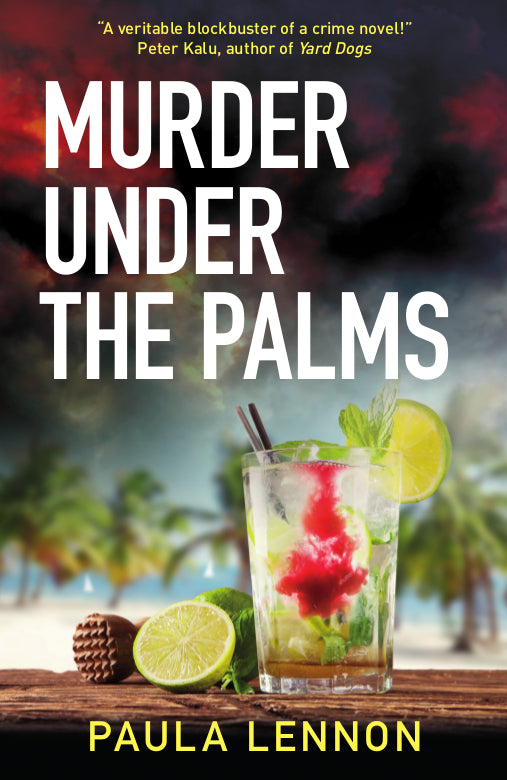 Murder Under the Palms by Paula Lennon