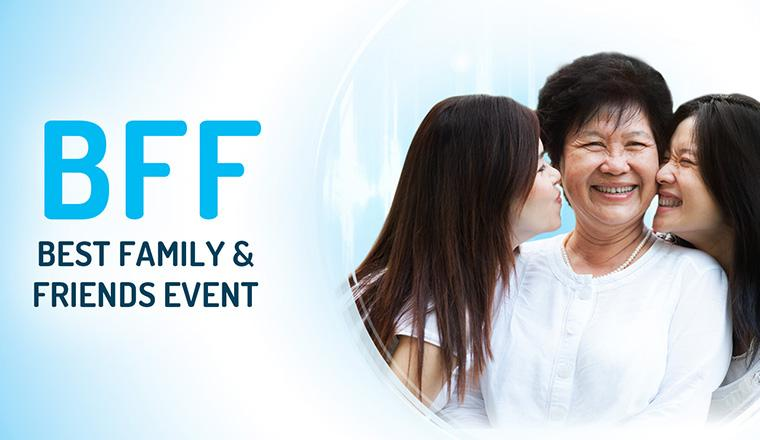Best Family & Friends Event