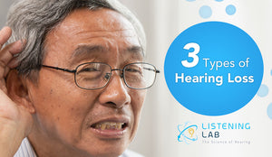 Understanding Hearing Loss Better: The Three Types of Hearing Loss