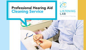 Professional Hearing Aid Cleaning Service