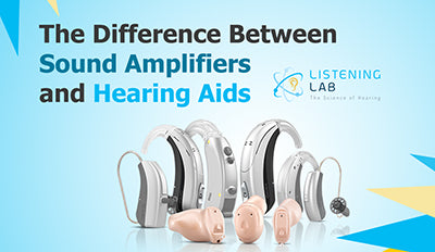 The Difference Between Sound Amplifiers and Hearing Aids?