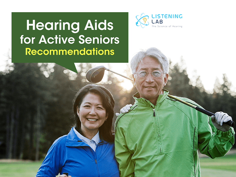 Recommended Hearing Aids for Active Seniors
