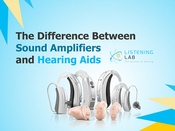 sound amplifier vs hearing aids