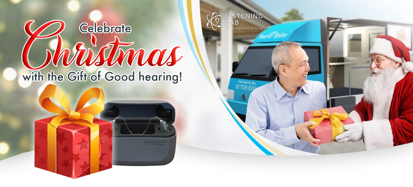 Celebrate Christmas with the Gift of Good Hearing