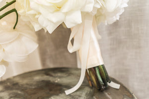 REBELLE  CASCADING BRIDAL BOUQUET